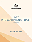 2015 Intergenerational Report Glossy Cover