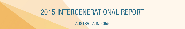 Header Graphic for the Intergenerational Report